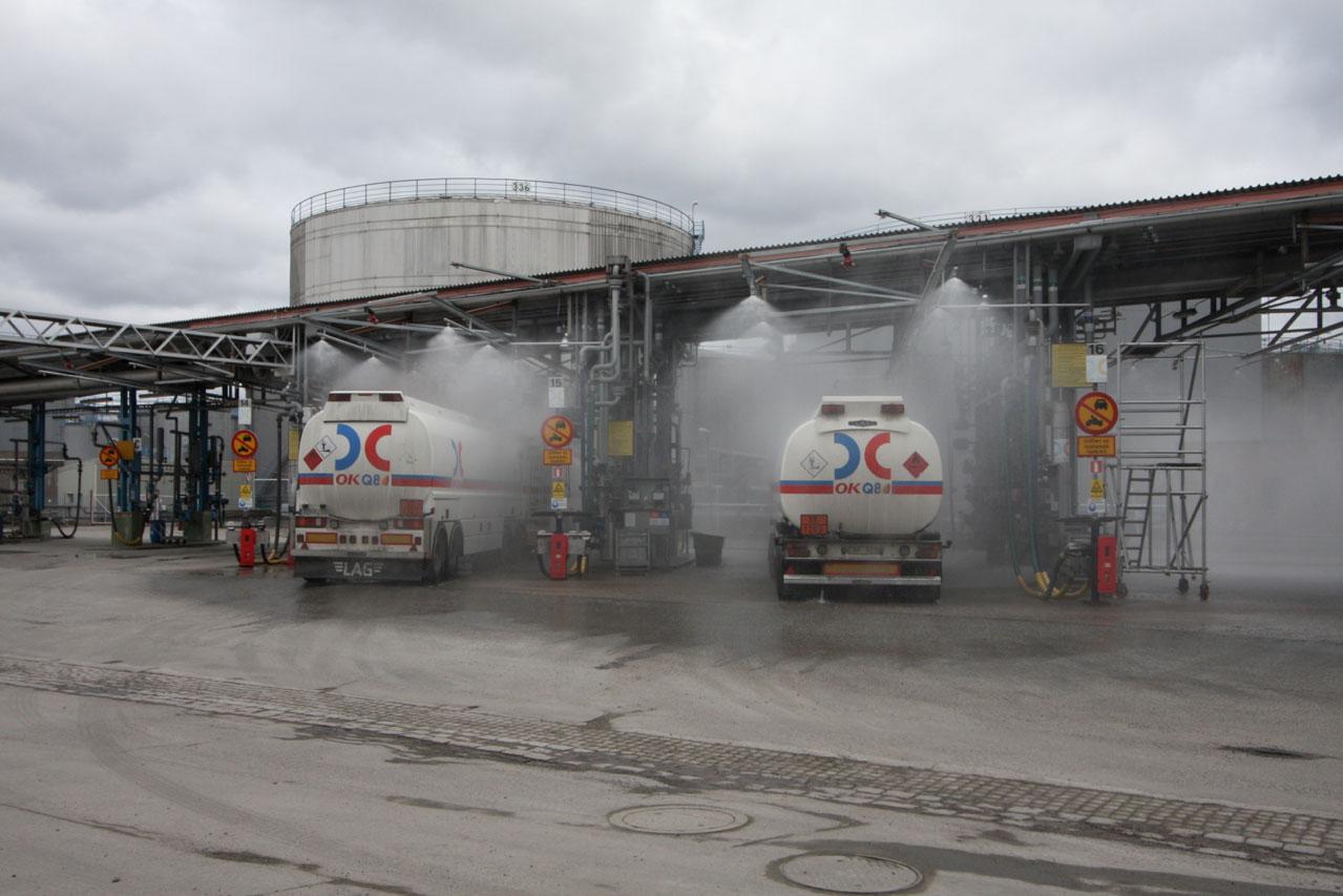Truck Loading Terminal Consilium Incendium Ab