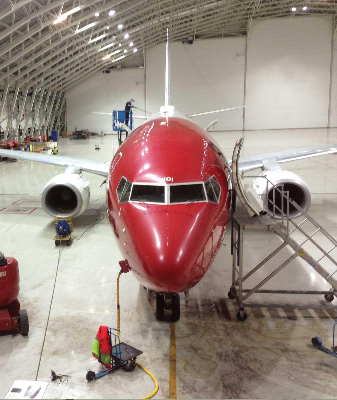Norwegian Hangar, Gardemoen